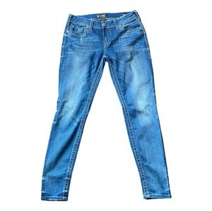 Silver Suki Mid Super Skinny Jeans Size 33